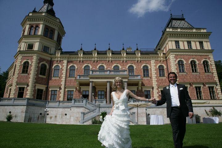 Heiraten im Märchenschloss - Aussenansicht